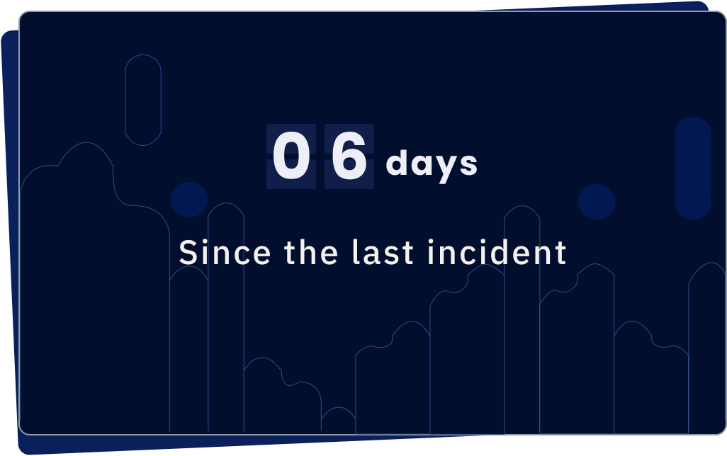 Incident timer dashboard